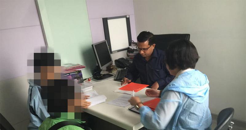 海得康印度精品就医团在MEDANTA医院接受治疗
