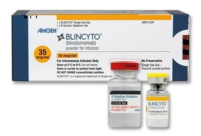 中国批准倍林妥莫双抗Blincyto治疗急性淋巴细胞白血病(图1)